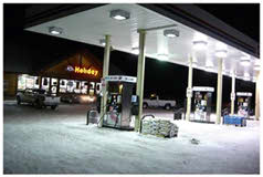 Petroleum Station Canopies LED Lighting