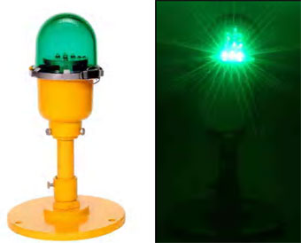 Elevated LED Helicopter Runways Taxiway Edge Light