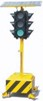 Solar Traffic Signal Light Portable