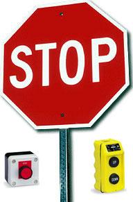 Stop! Push Button