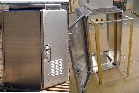 weatherproof aluminum cabinet enclosures outdoor cabinet. Black Bedroom Furniture Sets. Home Design Ideas