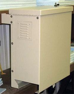 Delicieux Outdoor Cabinet 10h X 20d Enclosures Pole Mountable