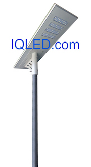 Solar Street Lighting All in one integrated 8800LM