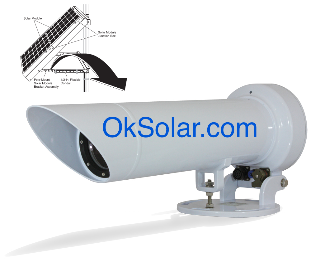Solar Sectored Port Entry Lights