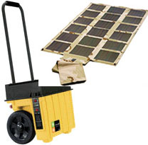 Foldable Solar Panel Generator 120VAC 1600Watts