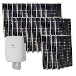Off-Grid Power Solar Systems 10,000 Watts