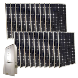Grid-Tie Solar Power System 5000 Watts