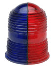 L861 Fixture Domes Lenses Red Blue