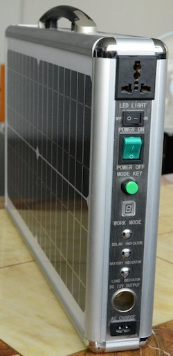 Portable Solar Power Generator System 16 Watts, Output:AC 100~220V