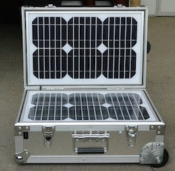 Emergency Portable Solar Power Generator 55Watts