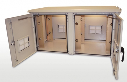 Double Bay Outdoor Enclosure 30 inches
