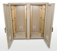 Double Bay Outdoor Enclosure 62""