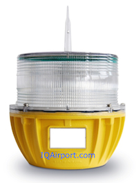 Solar Helipad Lights