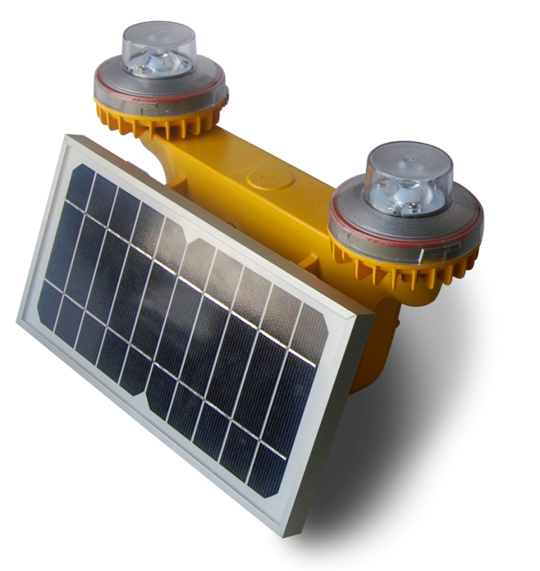 Solar Low Intensity Double Obstruction Light
