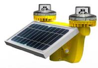 Solar Low Intensity Double Obstruction Light