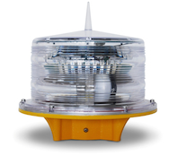 Solar LED Obstruction Light