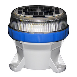 Solar Taxiway Lighting Blue