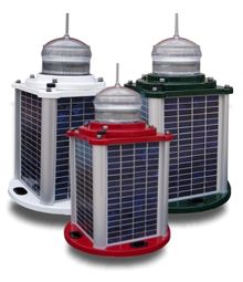 Solar Marine Lantern Red 3-5NM