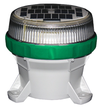 Self-Contained Marine Lanterns Green