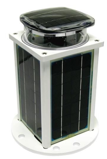Solar-powered Marine LED lanterns OkM704-5 Yellow
