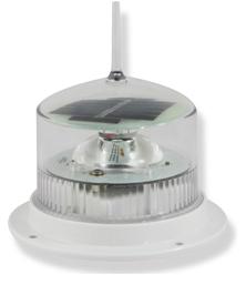 Solar Powered LED Marine Lights White