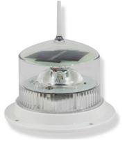Solar Powered LED Marine Lights White