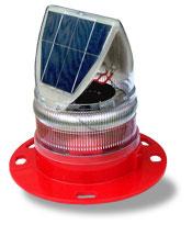 Solar Marine Lantern Red