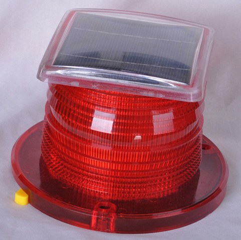 Solar Beacon Light RED