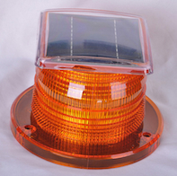 Solar Beacon Light Obstruction