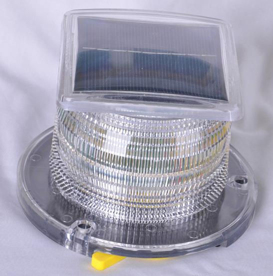 Solar Beacon Light White