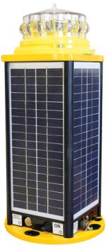 Solar Taxiway Blue Edge Light Radio Controlled