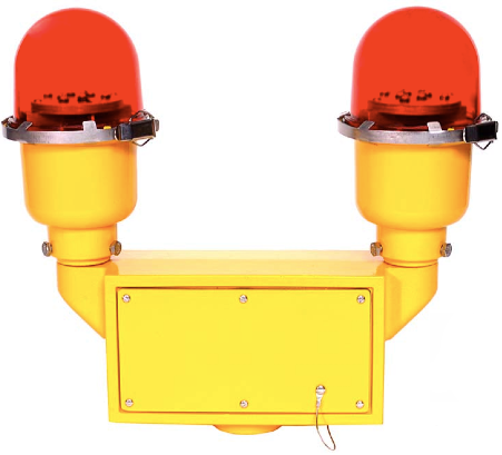 Solar-powered L-810 Aviation Obstruction Light, solar operated FAA L-810 Obstruction LED Light, FAA L810 LED Airport Lighting - LED Obstruction Lighting, Manufacturer of solar FAA approved airfield lighting products.