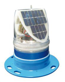 Solar Helipad Light - Green