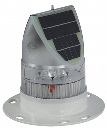 Solar Runway Airfield Light - White Runway
