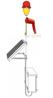 Infrared Solar L-807 Wind Cone External Light