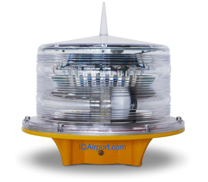 Solar Powered Crane Obstruction Light L-810
