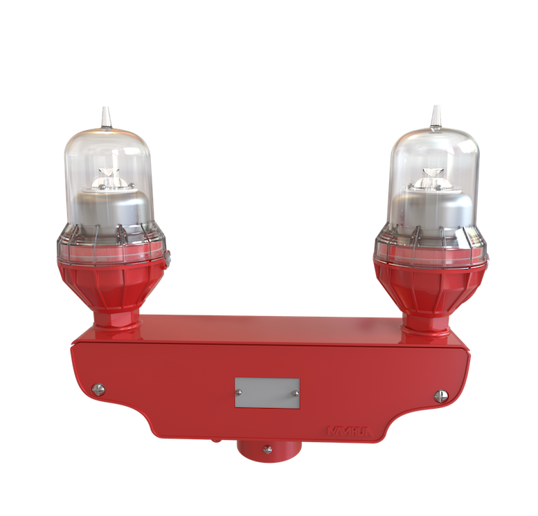 Red Obstruction Light 220VAC LED