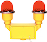 Red Obstruction Light 120VAC Photoelectric cells