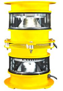 L-864 Medium Intensity DUAL RED/WHITE Beacon 240V