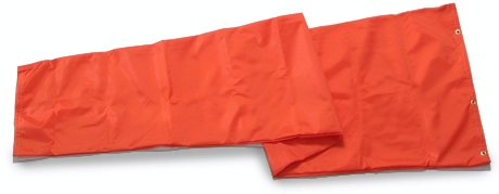 Wind socks 36 inch X 12 feet Orange nylon