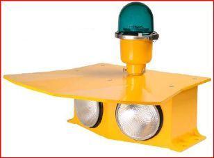 Surface Floodlight Perimeter Light Red 120V