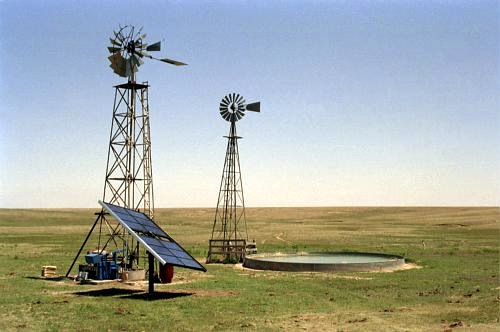 Wind/Solar Water Pumping from 100 - 250 foot depth