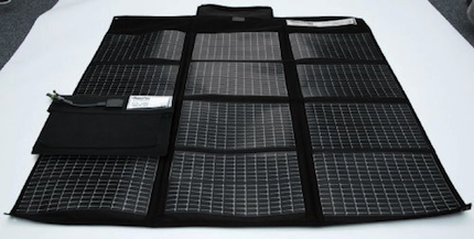 Solar Laptop Battery Charger Foldable 30 Watts