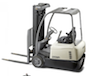 Solar Charging Electric Forklift 24VDC