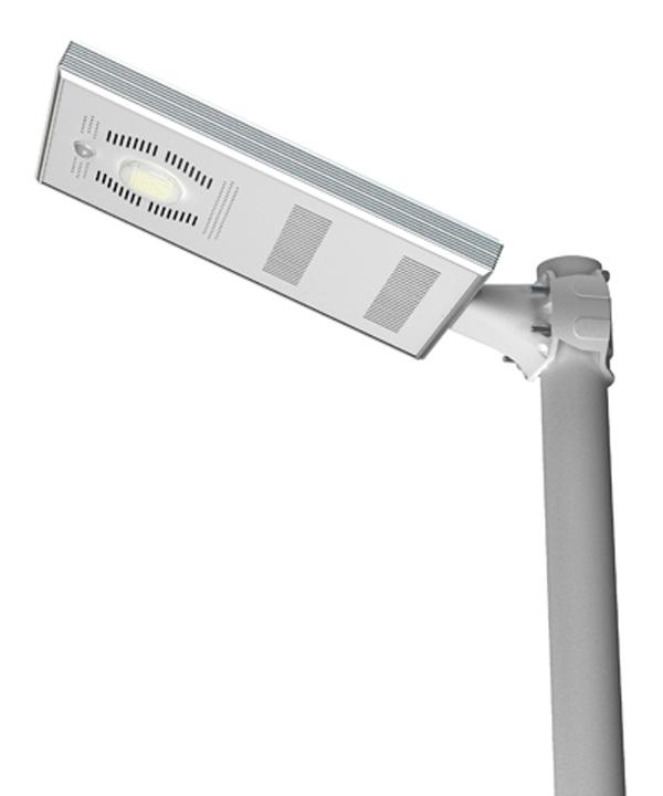 Military Solar Fence Light Smart Human Sensor