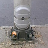 Security Cover for light poles, UNIVERSAL HAND HOLE COVER (OkU-Cover) is a security cover for light poles.
