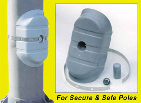 Security Cover For Light Poles