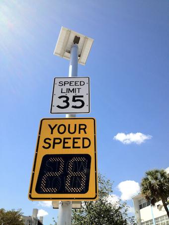 Radar Speed Signs Solar Powered