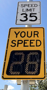 Hospital Radar Speed Your Speed Signs