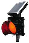 Solar Powered 24 Hour Flashing Stop Beacon